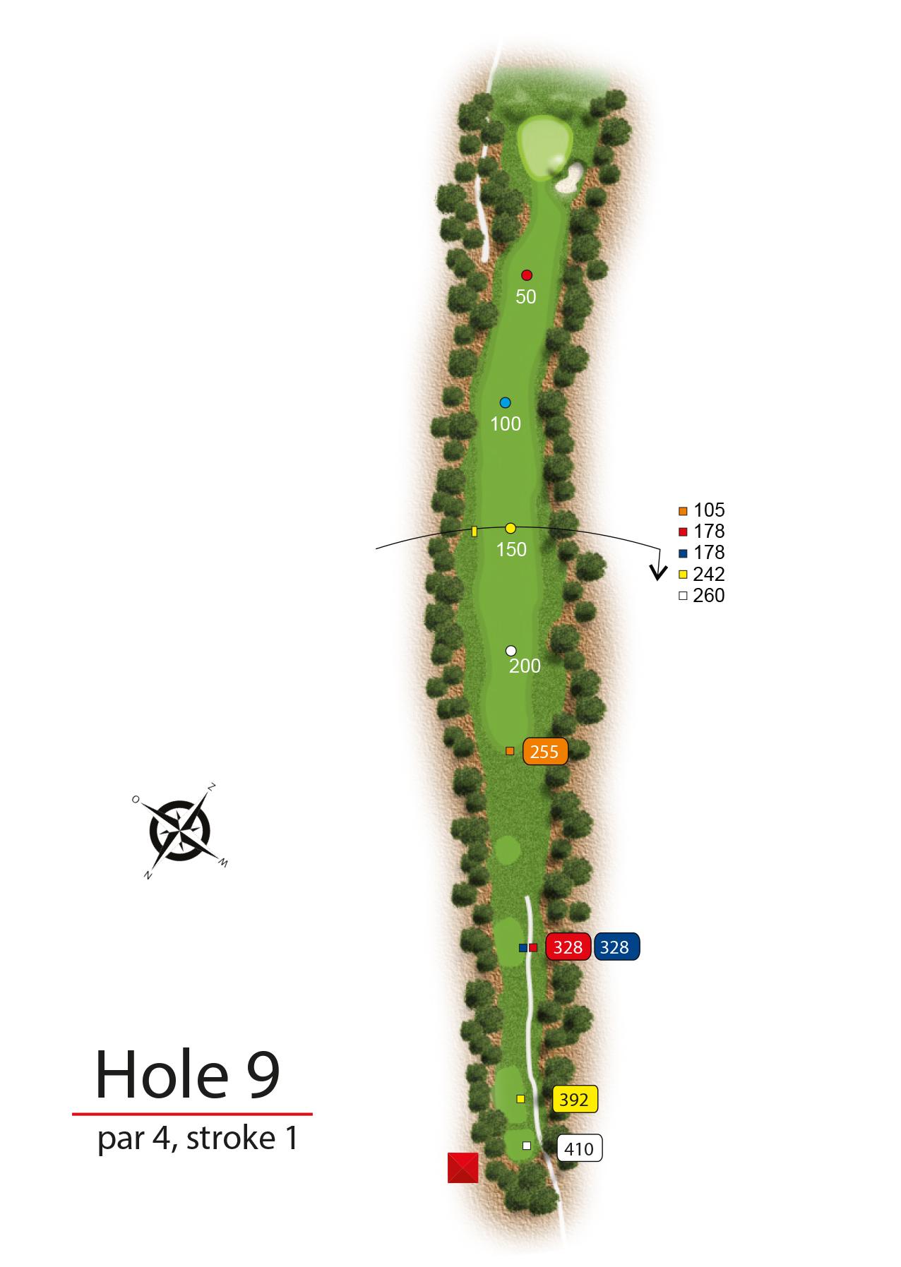 Hole 9 - simple