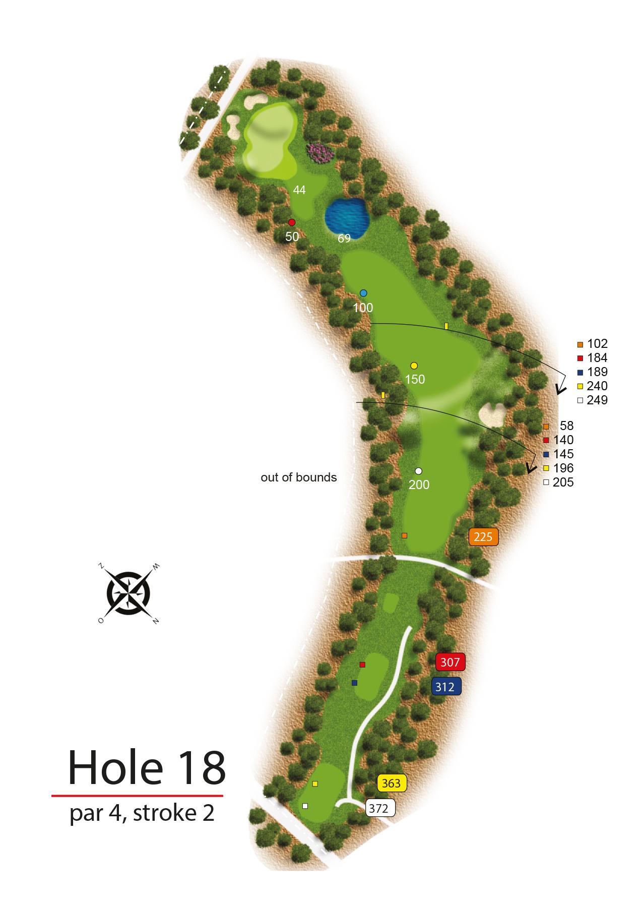 Hole 18 - simple
