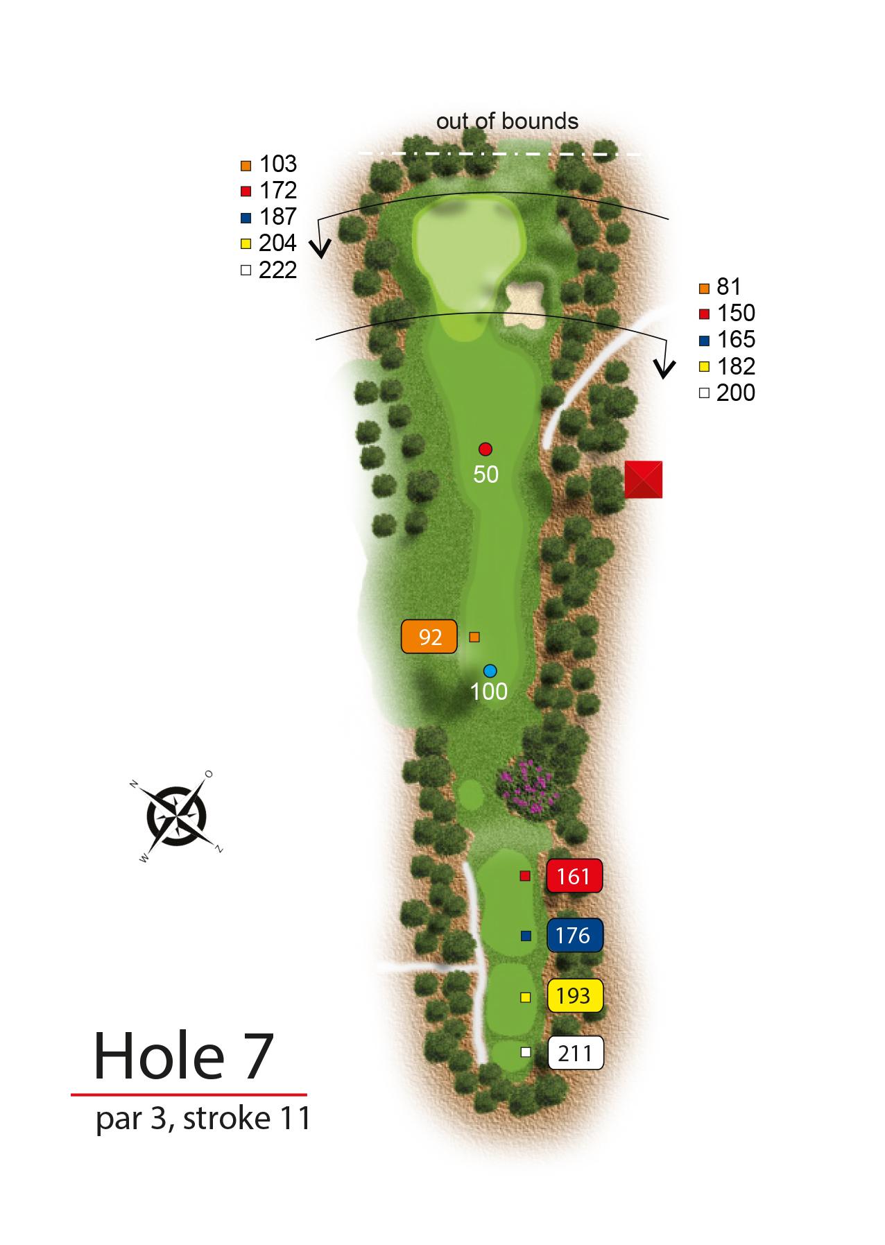 Hole 7 - simple