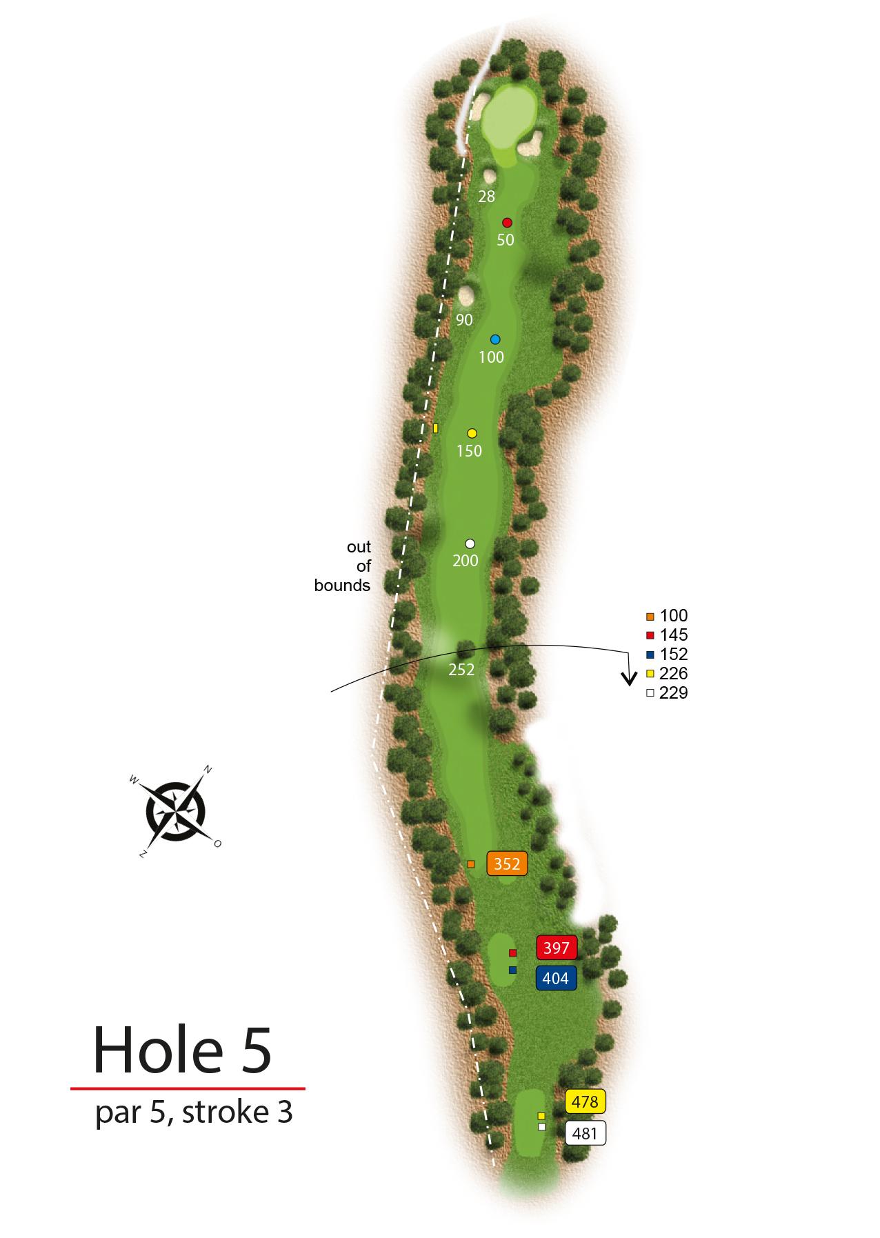 Hole 5 - simple