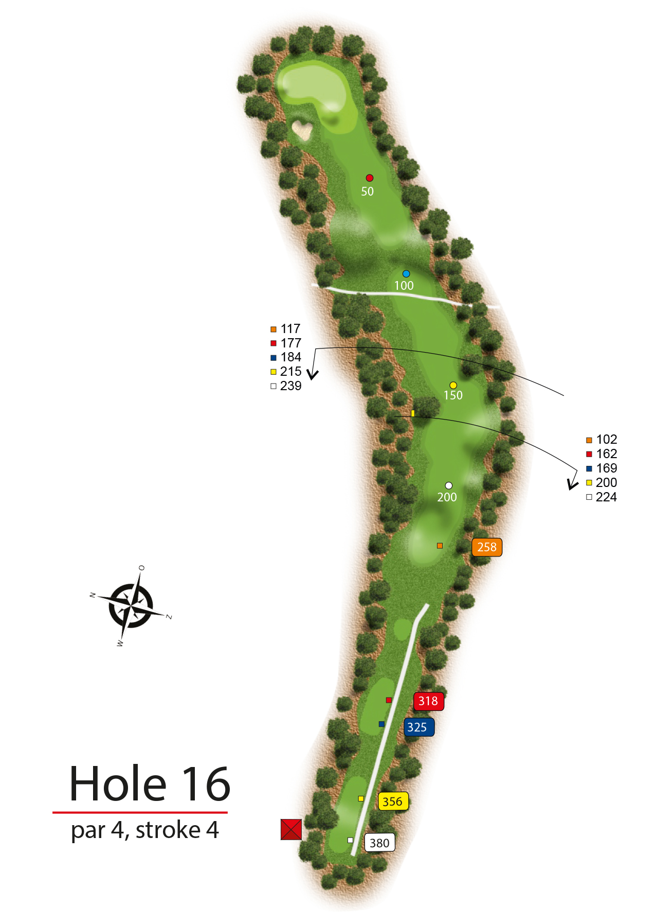Hole 16 - simple