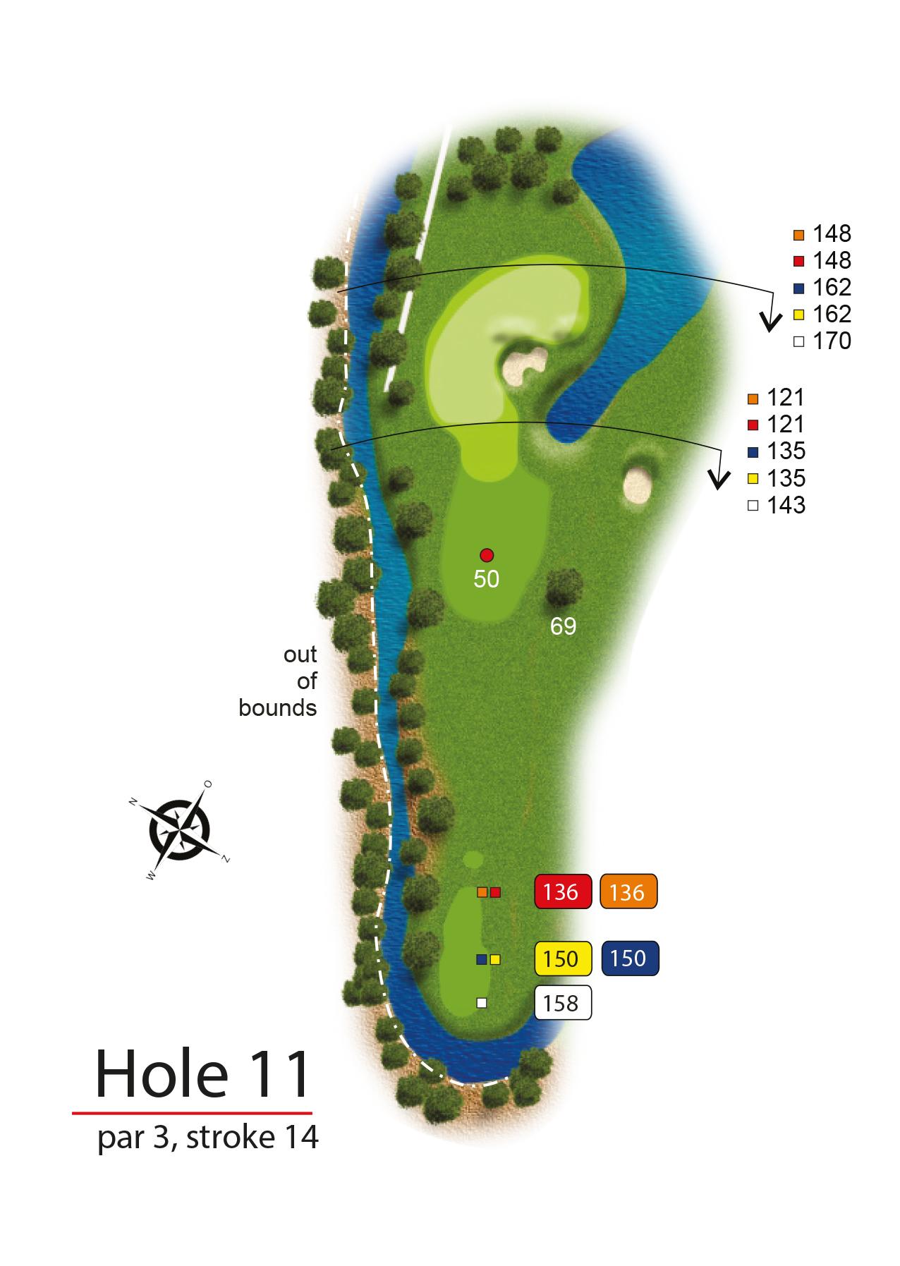 Hole 11 - simple